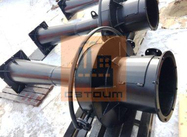 Труба коалугятор пылеуловитель КМП