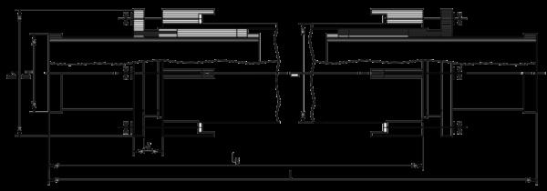 Габаритные размеры компенсатора серия 4.903-10