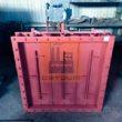 Клапан пылегазовоздухопровода с приводом МЭО